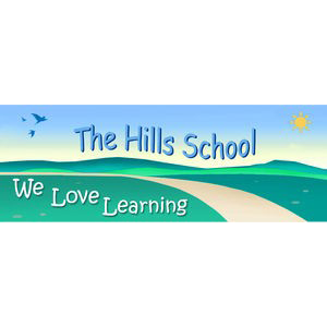 The Hills School logo
